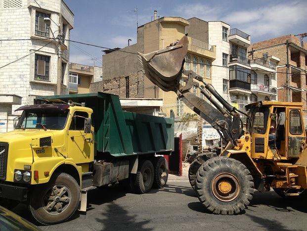تخریب و خاکبرداری در مازندران
